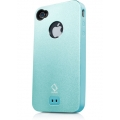 Capdase Alumor Metal Case Jacket Elli Light Blue/Light Blue for iPhone 4, 4S (MTIH4S-51CC)