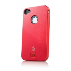 Capdase Alumor Metal Case Jacket Elli Mahogany/Mahogany for iPhone 4, 4S (MTIH4S-51HH)