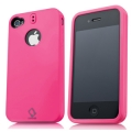 Capdase Polimor Protective Case Jacket Fuchsia/Fuchsia for iPhone 4, 4S (PMIH4S-5144)