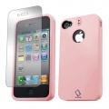 Capdase Polimor Protective Case Jacket Candy Pink/Candy Pink for iPhone 4, 4S (PMIH4S-51PP)