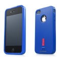 Capdase Soft Jacket Xpose Case Solid Blue for iPhone 4, 4S (SJIH4S-P2Y3)