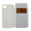 Capdase Smart Pocket Case ID Value Set Solid White/White for iPhone 4, 4S (DPIH4S-V522)