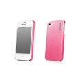 Capdase Karapace Jacket Case Pearl Pink for iPhone 4, 4S (KPIH4S-P104)