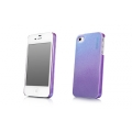 Capdase Karapace Jacket Case Pearl Purple for iPhone 4, 4S (KPIH4S-P105)