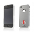 Capdase Soft Jacket Xpose Tinted White for iPhone 4, 4S (SJIH4S-P202)