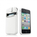 Capdase Smart Pocket Value Set White for iPhone 4, 4S (SLIH4S-V122)