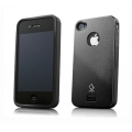Capdase Alumor Metal Case Elli Black/Solid Black for iPhone 4, 4S (MTIH4S-5111)