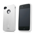 Capdase Alumor Metal Case Jacket Elli White/White for iPhone 4, 4S (MTIH4S-5122)