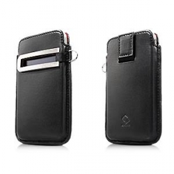 Capdase Smart Pocket Callid Black/Red for iPhone 4, 4S (SLIH4-S319)