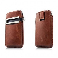 Capdase Smart Pocket Case Callid Brown/Black for iPhone 4, 4S (SLIH4-S381)