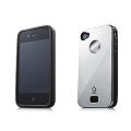 Alumor Metal Case MTIH4-31S1 Black Mirror for iPhone 4