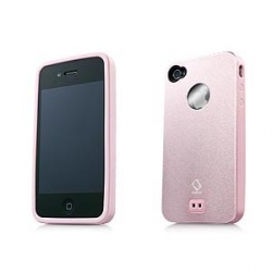 Alumor Metal Case MTIH4-5144 Pink/Pink for iPhone 4