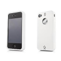 Capdase Polimor Protective Case Polishe White/White for iPhone 4, 4S (PMIH4-5122)