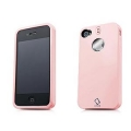 Capdase Polimor Protective Case Polishe Candy Pink/Candy Pink for iPhone 4, 4S (PMIH4-51PP)