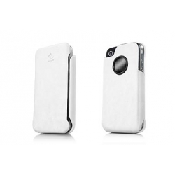 Capdase Capparel Protective Case Forme White/White for iPhone 4, 4S (CPIH4-1022)