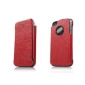 Capdase Capparel Protective Case Forme Red/Black for iPhone 4, 4S (CPIH4-1091)