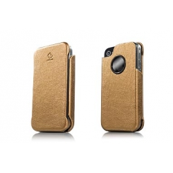 Capdase Capparel Protective Case Forme Bronze/Black for iPhone 4, 4S (CPIH4-10V1)