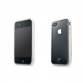 Capdase Soft Jacket Fuze Clear/Clear for iPhone 4 (SJIH4-3FOO)