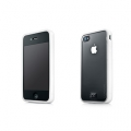 Capdase Soft Jacket Fuze Clear/White for iPhone 4 (SJIH4-3FY2)