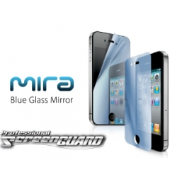 Capdase ScreenGUARD MIRA Blue for iPhone 4, 4S (SPIH4-MB)