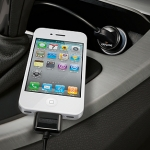 Capdase USB Car Charger Pico Black for iPhone/iPod (CA00-0M01)