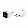 Capdase USB Power Adapter Atom Plug White for iPhone/iPod (ADII-A002-EU)