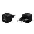 Capdase USB Power Adapter Atom Plug Black for iPhone/iPod (ADII-A001-EU)