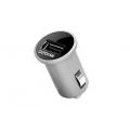 Capdase USB Car Charger Pico Plus Titanium (2.1 A) for iPad/iPhone/iPod (CACB-PPT1)