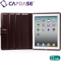 Capdase Protective Case Flip Jacket Brown for iPad 2 (SLAPIPAD2-PU08)