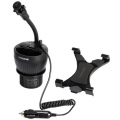 Capdase Car Cup Holder Charger PowerCup Tab-X Mount Black (3.1 A) for iPad/Tablet (CAAPIPAD-CT01)