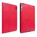 Capdase Protective Case Folio Dot Red/Black for iPad 2 (SLAPIPAD2-P091)