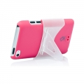 Capdase Karapace Protective Case Sove Fuchsia for iPod Touch 4G (KPIPT4-S304)