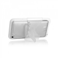 Capdase Soft Jacket Fuze Clear/White for iPod Touch 4G (SJIPT4-3FY2)