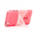 Capdase Soft Jacket 2 Xpose Red for iPod Touch 4G (SJIPT4-P209)