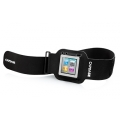 Capdase Sport Armband Zonic Black for iPod nano 6G (ABIPN6-1201)
