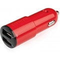 Capdase Dual USB Car Charger Ampo T2 Red (3.4 A) for iPhone, iPod, iPad Mini, iPad (CACB-AT09)