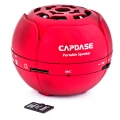 Capdase Portable Speaker Mini Beat Mono Red for iPad, iPhone, iPod (SK00-MM09)
