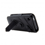 Leather Case WCIH3G-0001 Bi-fold Black