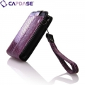 Leather Sleeve SLIH3G-3351 Snak Purple/Black