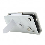 Leather Case WCIH3G-0002 Bi-fold White