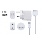 Dual USB Power Adapter & Cable TKII-PJ02-EU White