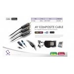 AV Composite Cable AVII-J401 2M
