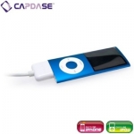 Capdase Sync&Charge Cable White 18cm for iPad/iPhone/iPod (HCII-SJ0G)