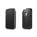 Capdase Capparel Protective Case Grafite Black/Black for iPhone 3G/3GS (COIH3G-G011)