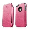Capdase Capparel Protective Case Forme Pink/Black for iPhone 4, 4S (CPIH4-1041)