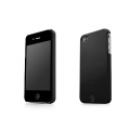 Capdase Karapace Protective Case Sove Black for iPhone 4, 4S (KPIH4-S301)