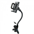 Capdase Car Charger Holder PowerMount 2.1 Swing Black for iPhone/iPod (CA00-H201)