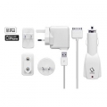 Capdase Power Kit World Travel White (1 A) (TKII-KJ02)