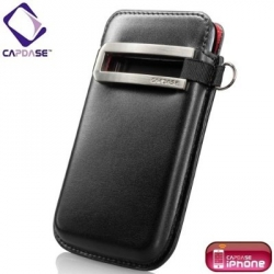 Capdase Smart Pocket Callid Black/Red for iPhone 3G/3GS (SLIH3G-S319)