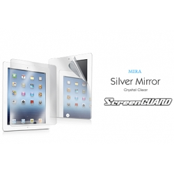 Capdase ScreenGUARD MIRA Silver for iPad 4, 3, 2 (SPAPIPAD2-M)